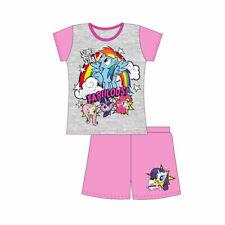 Mi Pequeño Pony Pijamas Niñas Mangas Cortas Chicas Mercadería Oficial