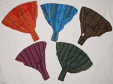 New Cotton Hair Head Band - Rasta Dreads Fairly Traded Rainbow Rebel Ethnic