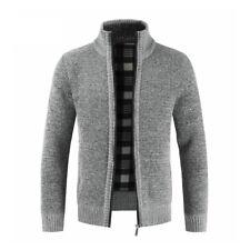 Men Winter Slim Fit Casual Warm Sweatshirt Coat Jacket Outwear Sweater Overcoat