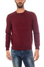 Felpa Armani Jeans AJ Sweatshirt Hoodie -25% Uomo Bordeaux 6X6M266JPAZ-1492