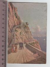 Campania - Capri Strada e scala per Anacapri - NA 8596