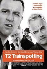 TRAINSPOTTING POSTER T2 A4 A3 A2 A1 cinema film di grande formato ART DESIGN #5