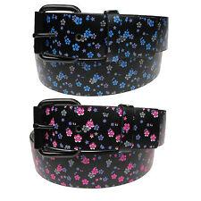 Señoras para mujer Flor cinturón Estampado Floral
