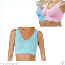 Blue 3 Set Sports Bra Seamless ahh Leisure Bra Shapewear Comfortable