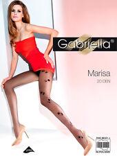 Gabriella Strumpfhose Marisa gemustert 20 DEN
