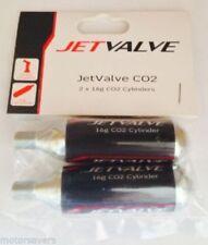 Weldtite Jet Valve CO2 Threaded Cartridge Smart System - 16g Cylinders