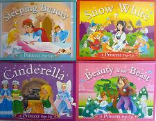 Fairy Tale Pop Up Story Book (Cinderella, Snow White, Sleeping Beauty, Beast