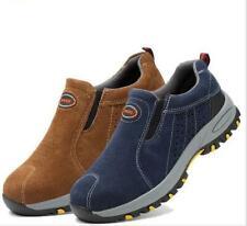 Chaussures de sécurité en acier pour les orteils en acier pour hommes HJ119
