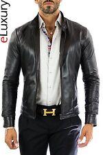 US Men Leather Jacket Hommes veste cuir Herren Lederjacke chaqueta de cuero 18p