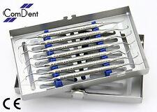 Parodontie Clinique Parodontale Gracey Curettes Set Labo Instruments Cassette