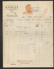 """PARIS (XVI°) PRODUITS COSMETIQUE pour CHEVEU Coiffeur """"Laboratoire GARNIER"""" 1949"""