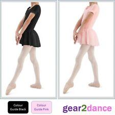 Studio Quality Girls Leotard with Voile Skirt Dance Ballet Tap Modern Gymnastics