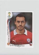 2014 Panini FIFA World Cup Brazil Album Stickers #158 Marcelo Diaz Soccer Card