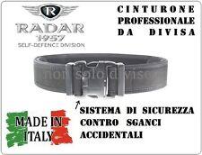 Cintura Cinturone BLU Professionale Rinforzato per Fondina Radar 1957 Polizia GG