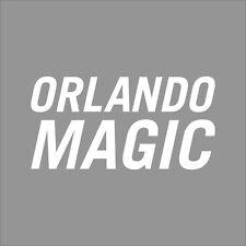 Orlando Magic #6 NBA Team Logo 1Color Vinyl Decal Sticker Car Window Wall