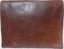 USA Men's Real Vintage Brown Leather Messenger Bag Shoulder Laptop Bag Briefcase