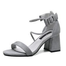 sabot ciabatte 7 cm eleganti  beige  tacco quadrato sandali simil pelle 9958