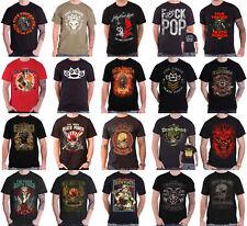 Five Finger Death Punch T Shirt Official Band Logo a vos six ogives pour Homme