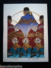 AMADO PENA ANO SEIS 1986 SERIGRAPH lmtd Gallery $2,350
