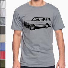 Land Rover Range Rover Classic 5-door Soft Cotton T-Shirt Off Road Multi Colors