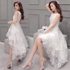 femme gilet maille dentelle ourlet Robe Soirée Mariage Princesse robe