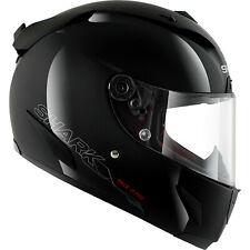 Shark Race-R Pro Blank Black Motorcycle Helmet & Visor Racing Sport Track Lid