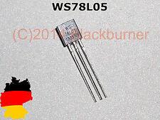 3/ 5/ 10Stck. WS78L05 78L05 TO-92 5V 100mA Spannungsregler Voltage Regulator IC