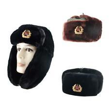 8ef82d0c1fa Russian Winter Hat Ushanka With Soviet Army Badge Winter Warm