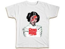 Rebel Rebel T-Shirt Princess Leia Carrie Fisher Star Wars Gift Birthday Top