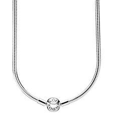 PANDORA Halskette Kugelverschluss 590742 HV Silber