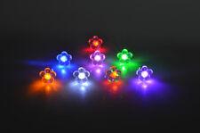 "leuchtende LED Ohrstecker ""Blume"" Ohrringe Ohrschmuck   in 9 Farben"