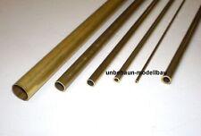Messing Rohr 1000 mm Messingrohr Messingrohre 0,4 bis 10 mm Größe Wählbar