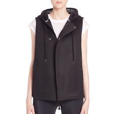 REBECCA MINKOFF Women's Black Hooded Mia Vest $248 NWT