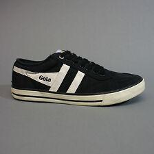 Gola Monaco Herrenschuhe Sneakers Turnschuhe Cma049bw Schwarz Weiss