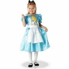 DISNEY robe déguisement ALICE AU PAYS DES MERVEILLES taille 5-6 ans NEUVE
