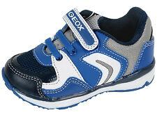Geox B TODO Boy Jungen Halbschuhe Schuhe Sneakers Sport Klett Gr. 22- 27 Neu