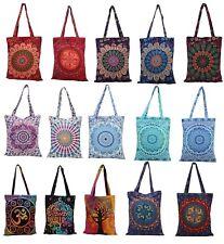 Mandala Shopping Bag Hippie Shoulder Bag Cotton Tote Bag Indian Multipurpose Bag
