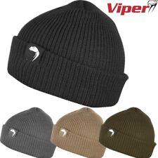VIPER hommes armée élastique bob chapeau acrylique Bonnet noir vert olive