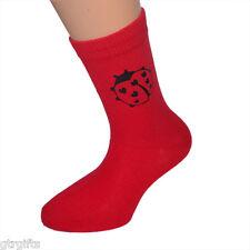 Cute Ladybird Design Childrens Socks - will suit Boy or Girl Ladybird kids socks