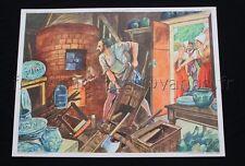 C040 Affiche Scolaire vintageBernard Palissy Saint Barthélémy Rossignol ecole 29