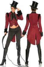 Female coréenne collier costume manteau vintage bordeaux steampunk uy 13055