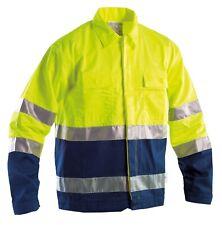 Giubbotto giaccone giacca uomo giubbino da lavoro alta visibilità fluorescente