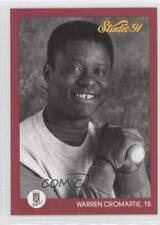 1991 Studio #64 Warren Cromartie Kansas City Royals Baseball Card