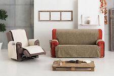 pratique couverture de fauteuil 3 carrés, 2 carrés,1 plaza Eysa Dream 4 carrés