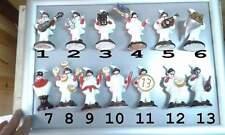 20 BOMBONIERE STATUETTA 10 CM pulcinella TERRACOTTA  comunione battesimo