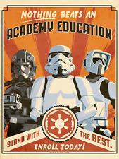 Star Wars Storm Trooper Banner Película LONA pared arte cartel impresión de película SC-fi