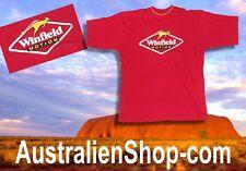 T-Shirt   WINFIELD Australia - Känguru Aufdruck - Linzenzware - Australien Shop