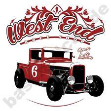 T-shirt #551 West End, Hot Rod v8 Hot Rod rockabilly 50er us-car Oldtimer