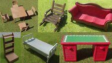 Playmobil pièces détachées meubles western (m30)