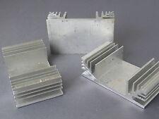 3x Heatsinks 38 x 60 x 20mm 8 deg c/w For Power semiconductors HS-U38